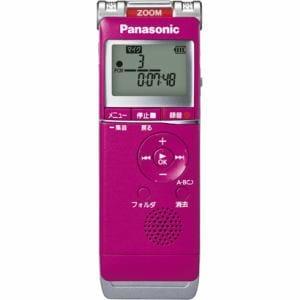 パナソニック リニアPCM対応ICレコーダー (4GB) ピンク RR-XS360-P