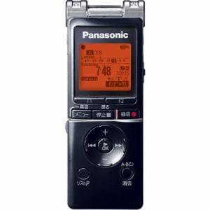 パナソニック リニアPCM対応ICレコーダー (4GB) ブラック RR-XS460-K