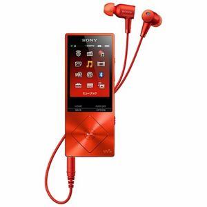 ソニー 【ハイレゾ音源対応】 ウォークマン A20シリーズ 16GB シナバーレッド NW-A25HN-RM-RM