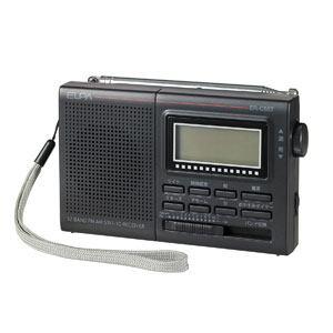 ELPA AM/FM/SW デジタルラジオ ER-C55T