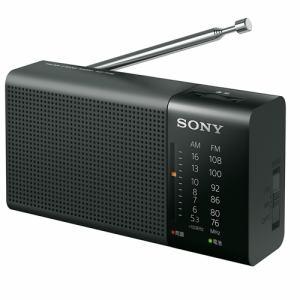 ソニー FM/AM対応アナログラジオ ブラック ICF-P36