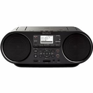 ソニー Bluetooth対応CDラジオ ブラック ZS-RS80BT