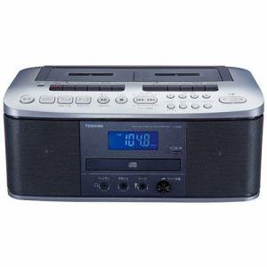 東芝 CDラジオカセットレコーダー シルバー TY-CDW88-S