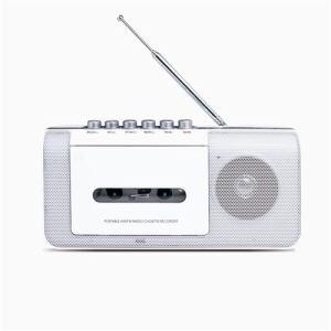 ステイヤー AM/FMラジオ カセットテープレコーダー ホワイト ST-RC01WH