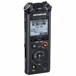 オリンパス 【ハイレゾ音源対応】 ICレコーダー ブラック LS-P2-BLK