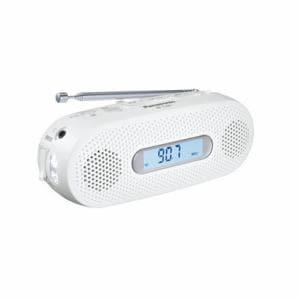 パナソニック RF-TJ20-W AM/FMワイド手回し充電ラジオ ホワイト