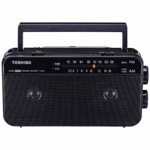 東芝 TY-AR55K FM/AM ステレオラジオ(ブラック)