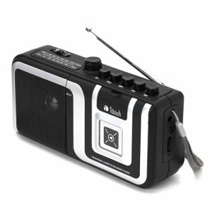 eiYAAA(エイヤー) TCRGKS1BK ラジオカセットプレーヤー