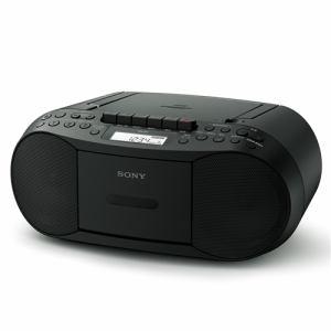 ソニー CFD-S70-BC CDラジカセ(ブラック)