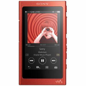 ソニー NW-A35HN-RM 【ハイレゾ音源対応】ウォークマン A30シリーズ (ヘッドホン同梱モデル) 16GB シナバーレッド