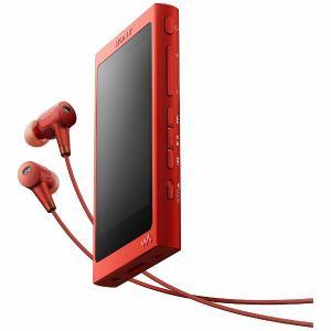 ソニー NW-A36HN-RM 【ハイレゾ音源対応】ウォークマン A30シリーズ (ヘッドホン同梱モデル) 32GB シナバーレッド