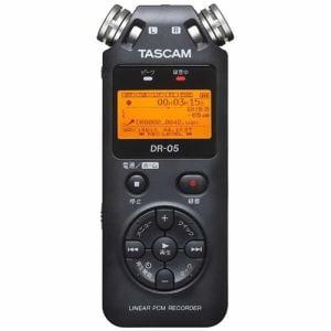TASCAM(タスカム) DR-05VER2-JJ 【ハイレゾ音源対応】 リニアPCMレコーダー