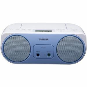 東芝 TY-C150-L ワイドFM対応 CDラジオ ブルー