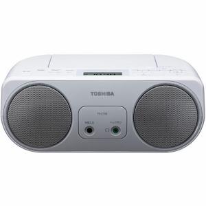 東芝 TY-C150-S ワイドFM対応 CDラジオ シルバー