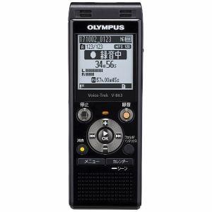 オリンパス V-863-BLK ICレコーダー 「Voice-Trek」 ブラック
