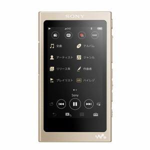 ソニー NW-A45HN-N 【ハイレゾ音源対応】 ウォークマン Aシリーズ[メモリータイプ] ヘッドホン付属モデル 16GB ペールゴールド