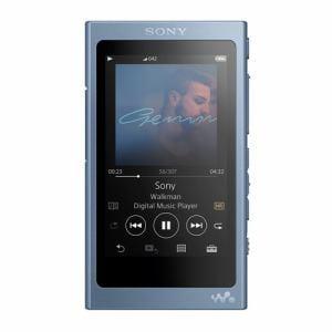 ソニー NW-A47-L 【ハイレゾ音源対応】 ウォークマン A40シリーズ 64GB ムーンリットブルー