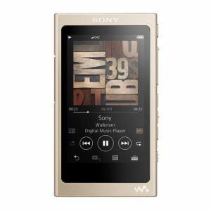 ソニー NW-A47-N 【ハイレゾ音源対応】 ウォークマン A40シリーズ 64GB ペールゴールド