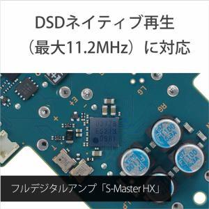 ソニー NW-ZX300-B 【ハイレゾ音源対応】デジタルオーディオプレーヤー ウォークマン WALKMAN ZXシリーズ (ブラック/64GB)