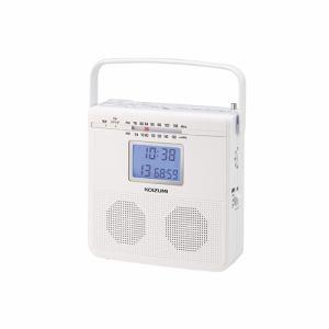 コイズミ SAD-4703/W CDラジオ ホワイト