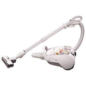 Panasonic 自走式ブラシ搭載 紙パック式掃除機 フラワーホワイト MC-PC34AG-W