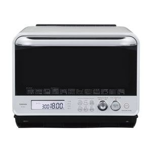TOSHIBA 過熱水蒸気オーブンレンジ 「石窯ドーム」(30L) グランホワイト ER-MD300-W