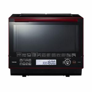 東芝 ER-PD3000-R 加熱水蒸気オーブンレンジ 「石窯ドーム」 (30L) グランレッド