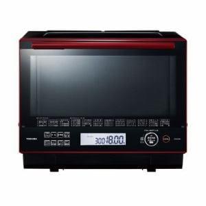 東芝 ER-RD3000-R 過熱水蒸気オーブンレンジ 「石窯ドーム」 30L グランレッド