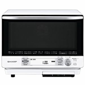 シャープ RE-V100A-W 過熱水蒸気オーブンレンジ 31L ホワイト系