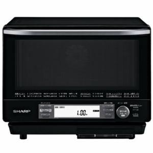 シャープ RE-V100A-B 過熱水蒸気オーブンレンジ 31L ブラック系
