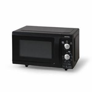 アイリスオーヤマ 電子レンジ EMO-F518-6 18L フラットテーブル 60Hz ブラック