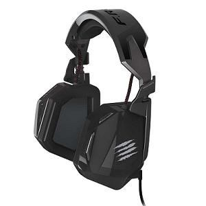 マッドキャッツ MC-F4DE-BK ViviTouchテクノロジー搭載 ステレオヘッドセット ブラック