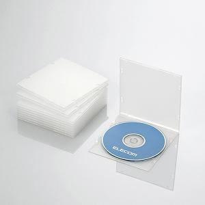 エレコム Blu-ray/DVD/CDケース(スリム/PP/1枚収納/10パック) クリア CCD-JPCS10CR