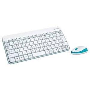 ロジクール ワイヤレスキーボードマウスセット ワイヤレスコンボ ホワイト MK240S-WH