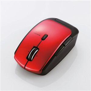 エレコム Bluetooth 4.0 レーザーマウス レッド M-BT13BLRD