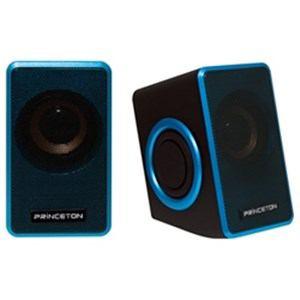 プリンストン デュアルパッシブラジエーター搭載スピーカー ブルー PSP-DPRB