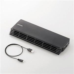 エレコム ノートPC用クーラー(薄型コンパクトタイプ) 12.1?17インチ対応 SX-CL20BK