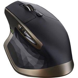 ロジクール ワイヤレスレーザーマウス Bluetooth対応 Darkfield Laser搭載 7ボタン ブラック MX2000