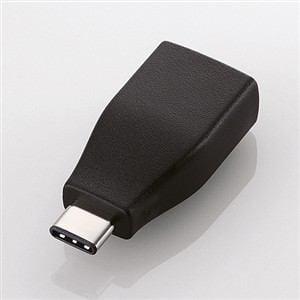 エレコム Type-C変換アダプタ ブラック USB3-AFCMADBKBK