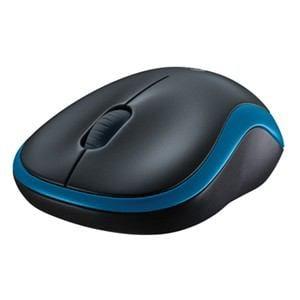 ロジクール ワイヤレスマウス ブルー M186BL