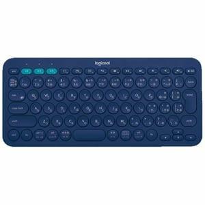 ロジクール K380 マルチデバイス Bluetooth キーボード ブルー K380BL