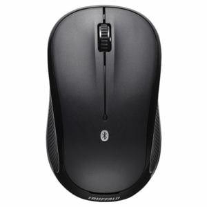 バッファロー Bluetooth3.0対応 静音/3ボタンBlueLEDマウス ブラック BSMBB21SBK