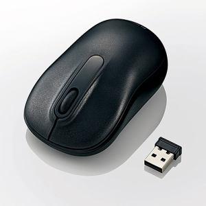 エレコム M-DY11DRBK 無線Mサイズボトムマウス(3ボタン) ブラック