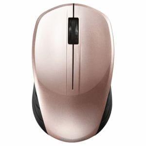 バッファロー BSMBW100BP 無線(2.4GHz) BlueLEDマウス 3ボタン ベージュピンク
