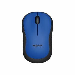 ロジクール M221BL 静音マウス ブルー