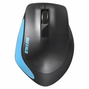 バッファロー BSMBW300MBL Premium Fitマウス無線/BlueLED光学式/静音/3ボタン/Mサイズ ブルー