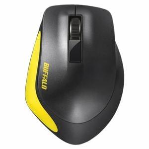バッファロー BSMBW300MYE Premium Fitマウス無線/BlueLED光学式/静音/3ボタン/Mサイズ イエロー