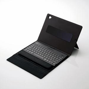 エレコム TK-CAP01IBK iPad用ワイヤレスBluetoothキーボード ブラック