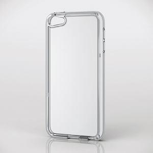 エレコム AVA-T17HVCCR iPod touch用ハイブリッドケース