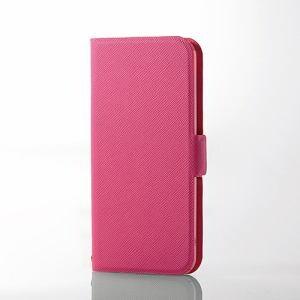 エレコム AVA-T17PLFUPN iPod touch用薄型レザー ピンク